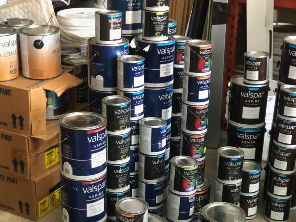 Siskiyou Habitat for Humanity Building Supplies, Paint, and Painting Tools for sale