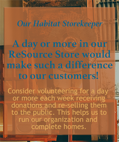 Siskiyou Habitat for Humanity ReSource Center